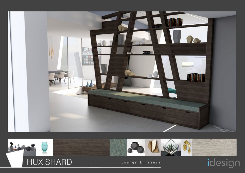 idesign Hux Shard Lounge Visual 1