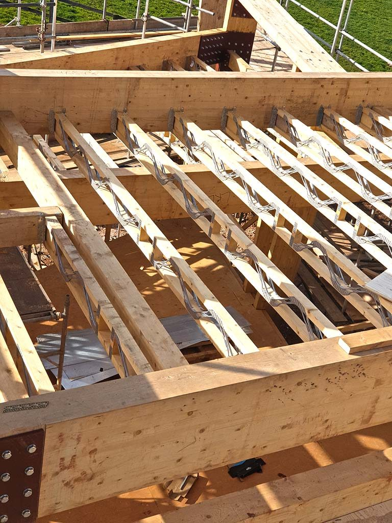 Paragraph 79 Architecture Infill Roof Joists