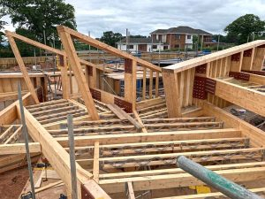 Hux Shard Phase 3 Roof Joists